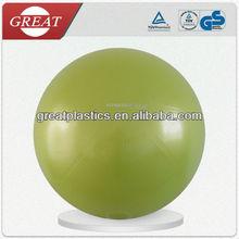 Water-melon gymnastic ball Inflatable pvc pilates antiburst fitness ball