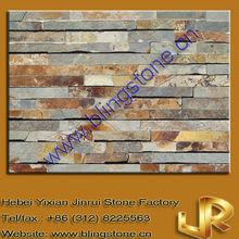Natural Slate Multicolor Stone Wall Veneer