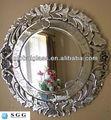 de alta calidad espejo veneciano de vidrio fabricación con la norma iso ccc y el ce estándar