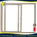 Porta de alumínio projeto colorbond cor porta de correr com vidro vidros duplos