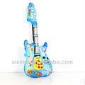 Instrumentos musicais de plástico para crianças/guitarrainflável