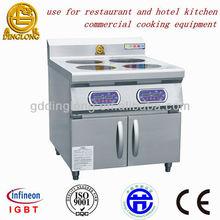 Four burner commercial induction ranges