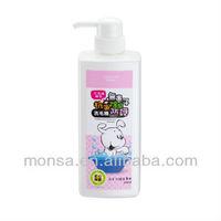 Tungshin Monsa Sapindus Soapberry Antibacterial Deodorant Shampoo white fur dogs and cats