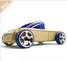 wooden pickup truck toys/mini car model/deformation of wood car