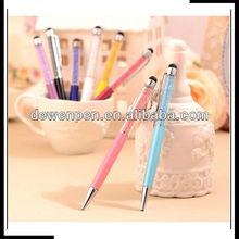 2013 dewen light metal ball pen jewel ball pen