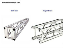 300*300mm aluminum truss system, aluminum spigot truss,truss for outdoor show