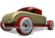 Cool bubble car toys/mini car model/Deformation of wood car