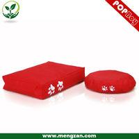 fiery red pet bean bag bed , cat bean bag cushion , high quality bean bag bed
