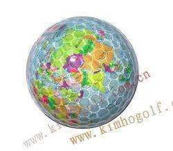 World map golf ball----Your funny golf ball