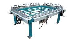 CE approved of Pneumatic silk screen stretching machine