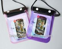 pvc waterproof bag for handphone