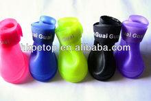 Anti-Slip Waterproof PVC Dog Rain Shoes