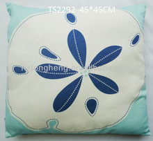 modern cotton canvas decorative throw pillow
