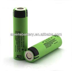 3400mah high capacity rechargable Panasonic 18650 battery for electric bike