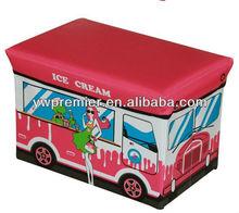 Most Popular Cartoon Foldable Storage Bench storage ottoman