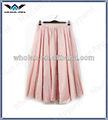 venta al por mayor faldas largas para mujer volante maxi vestido de china