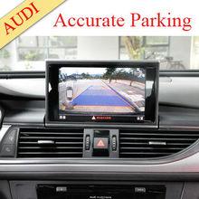 car park sensors CE &Rosh built-in accurate parking guidance lines AV/NAVI GPS for optional