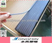 9*2.5mm fridge door seal magnet / magnetic strip / strong rubber magnet strip