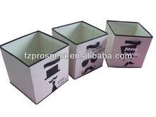 non woven folding fabric storage box