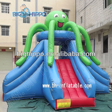 Octopus inflatable bounce slide