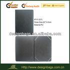 simple black color belt clip case for ipad mini