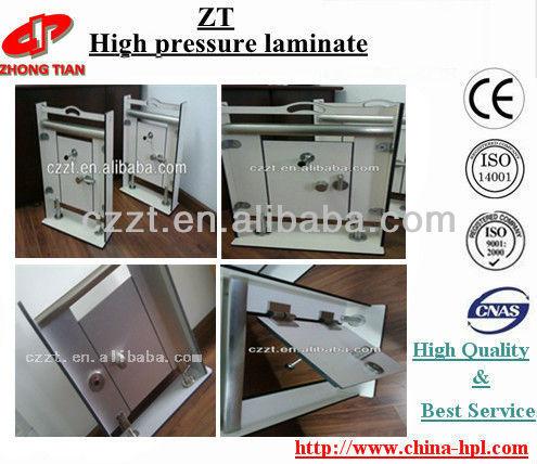HPL/Compact laminate/toilet partition