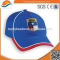 Piedra de béisbol 100% sarga de algodón bordado personalizado casquillo del deporte y sombrero