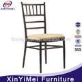 Venta caliente populares de aluminio silla de chiavari xym-zj74