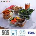 venta al por mayor de microondas vidrio desechables contenedor de alimentos