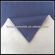 plain cloth and polar fleece bonded fabric