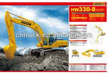 32ton Sinotruck Crawler Excavators
