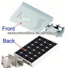 Smart motion sensor led solar garden lighting