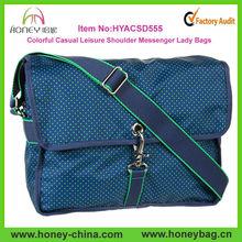 Hot Sale Colorful Long Strap School Satchel Bags For Teens Casual Fashion Boys Satchel Bag
