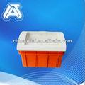 plástico abs caixa de distribuição de