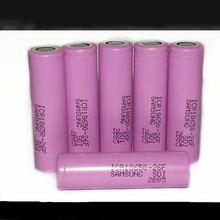 Icr18650-26f batteria al litio ricaricabile 18650 samsung 2600 3.7v mah agli ioni di li cella