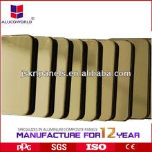 aluminium clad/facade composite panel