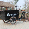 three wheel electric cargo trikes/family cargo bikes China