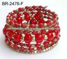fashion jewellery online Beaded Bangles jewel costume handmade made in India Handicrafts artificial imitation jewellery