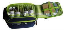 foldable wholesale picnic basket set TWPB-3489E1