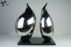 Outdoor whisper art Sculpture stainless steel sculpture for decoration
