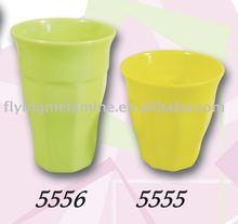 Color melamine wavy cup