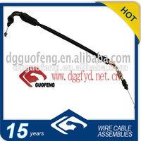 Brake line/accelerator cable/instrument line