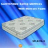 comfort spring mattress with memory foam
