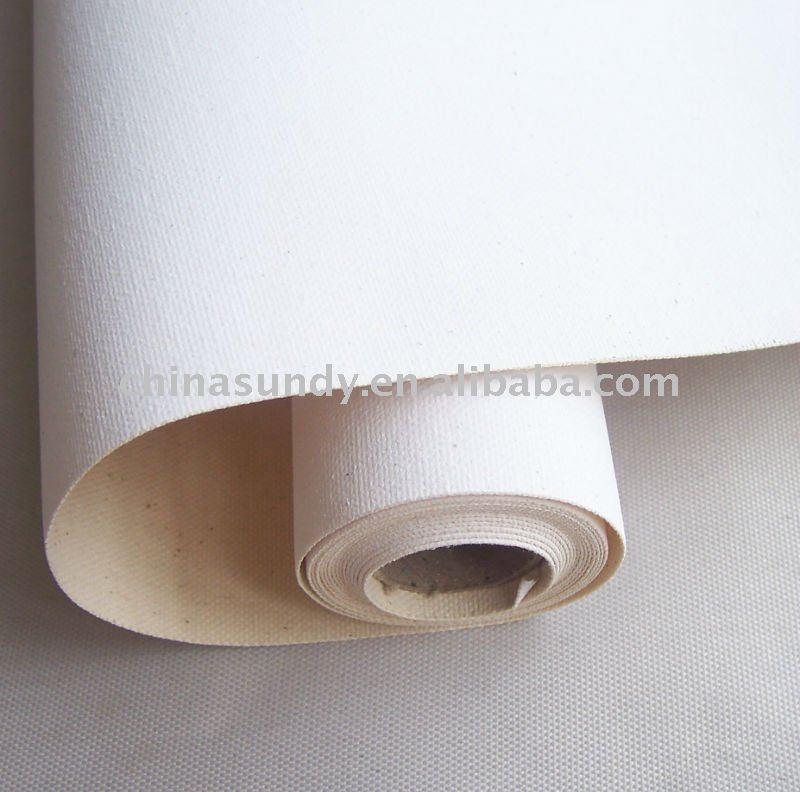100% algodón de inyección de tinta de la lona de rolls ( para imprimir de la lona )