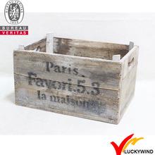 Wholesale vintage antique handmade rustic old wooden fruit crates