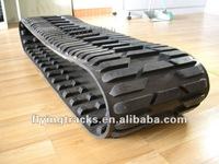 rubber track for snow vehicle
