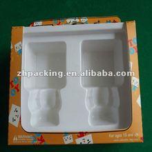 packaging box insert with velvet for gift box