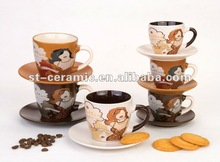 2012 well-sell ceramic coffee cups wholesale