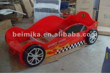 Children Furnitue/Kids race car bed/Fire Mclaren Racing Car Bed For Boy 713-01R