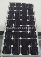 130w mono solar panel with high efficiency